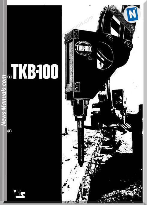 Takeuchi Hydraulic Breaker Tkb100 Parts Manual