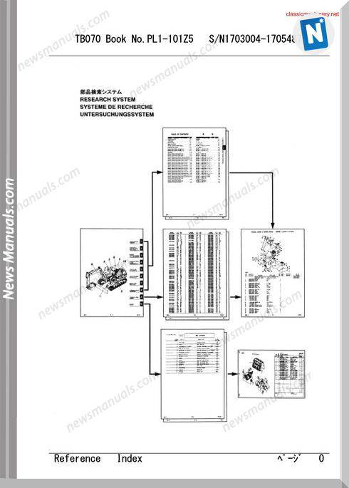 Takeuchi Tb 070 Undercarriage Spare Parts