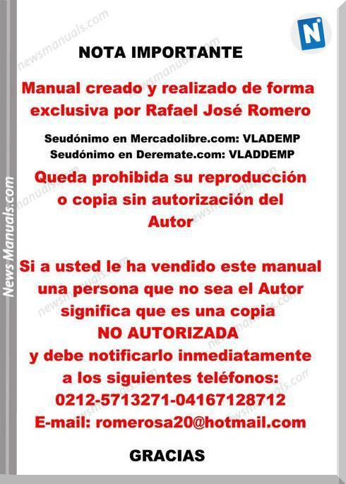 Taller Y Servicio Suzuki Baleno O Esteem Service Manual