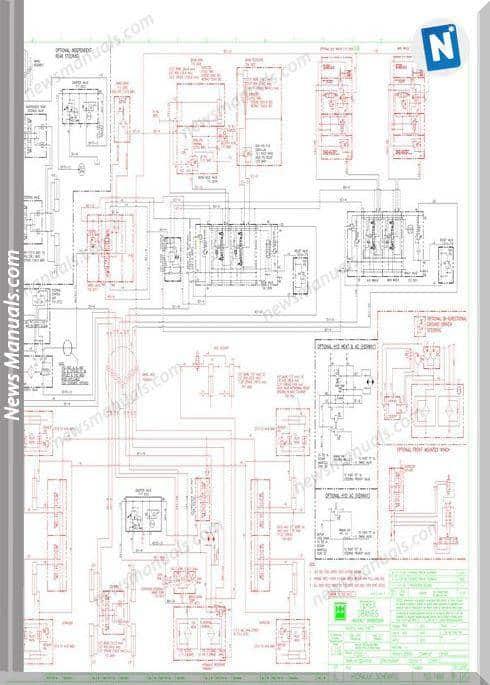 Terex Cranes Rt300-1 Electrical Schematic