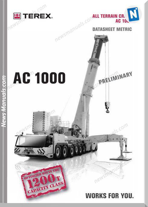 Terex Demag Ac 1000 Part Catalogue