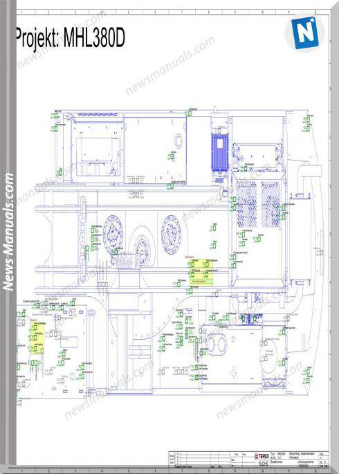 Terex Fuchs Mhl380D Wiring Diagram