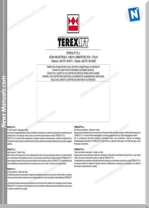 Terex Lift Tx51