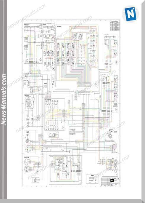 Terex Pt70, 80 Combined Electrical Schematic