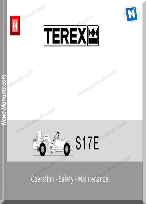 Terex S17E Operation Safety Maintenance