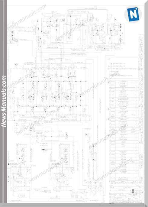 Terex Stacker Cruiser Hydraulic Diagram