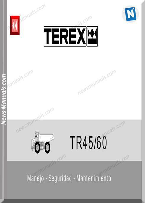 Terex Ta45,60 Service Maintenance Spanish