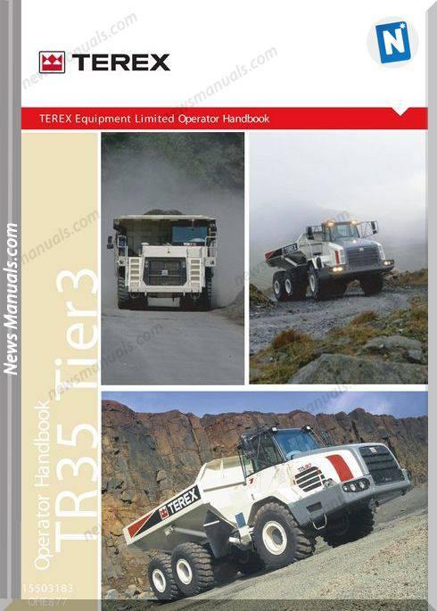 Terex Tr35 A877 Op Operator Manual