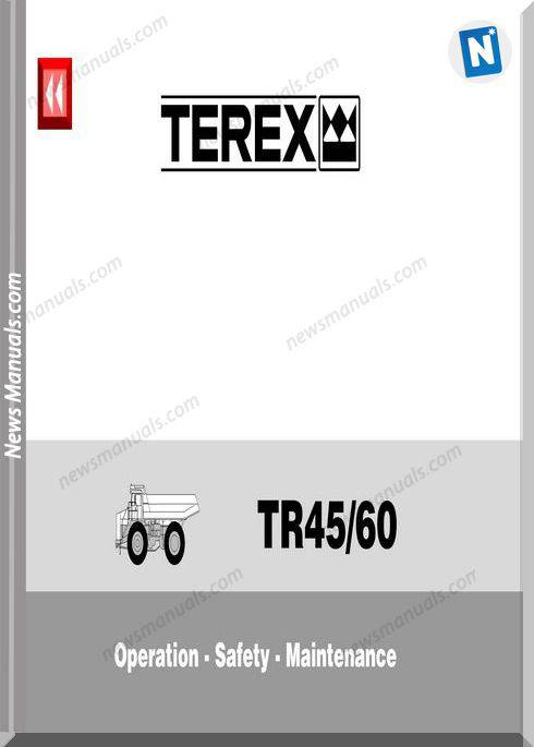 Terex Tr45 Tr60 Operation Safety Maintenance