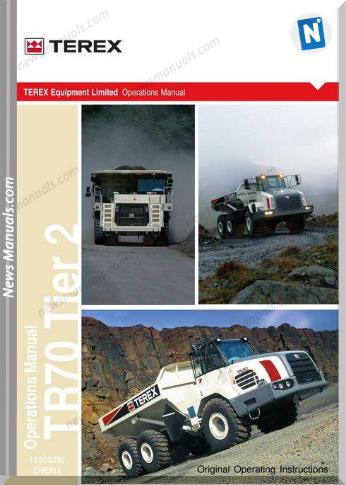 Terex Tr70 Tier 2 Models Operator Manual