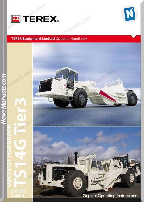 Terex Ts14G S913 Op Operator Manual