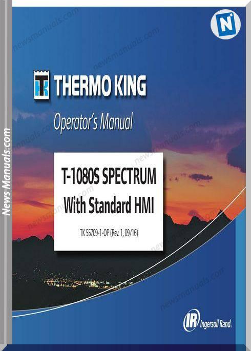 Thermo King T-1080S Spectrum Hmi Tk 55709 Repair Manual