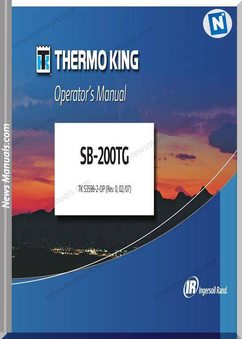 Thermoking Sb-200Tg 53598-2-Op Models Repair Manuals