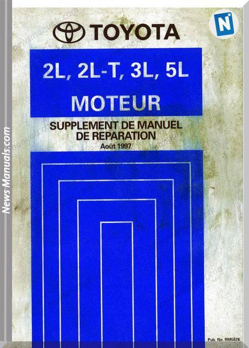 Toyota 2l 2l T 3l 5l Repair Manual 1997