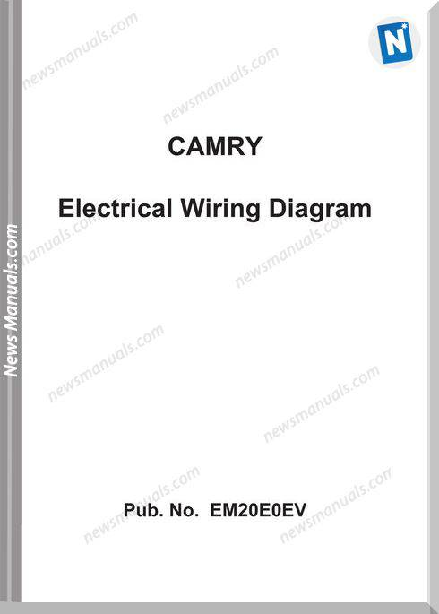Toyota Camry 2012 Year Electrical Wiring Diagram