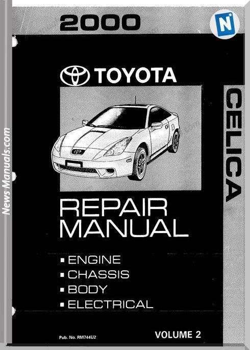 Toyota Celica Repair Manual Volume 2