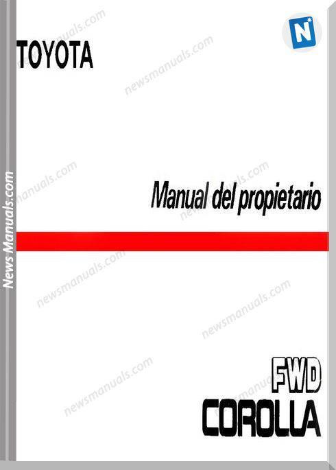 Toyota Corolla 1986 Workshop Manual