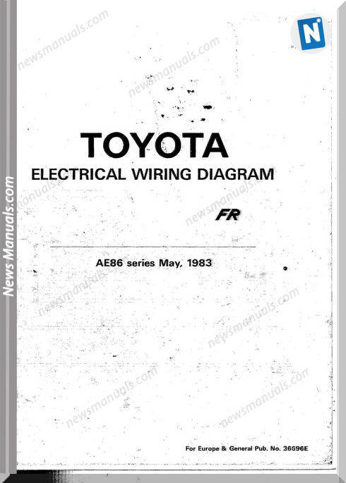 Toyota Corolla Fr Electric Wiring Diagram