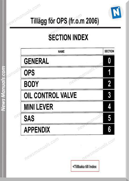 Toyota Forklift 7Fd Ops S Models Service Manual