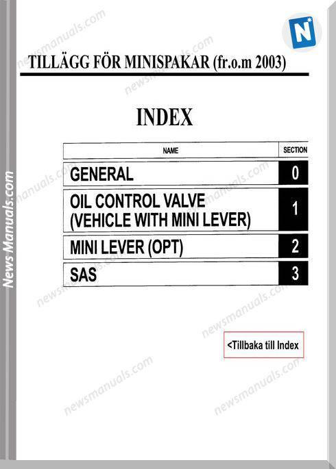 Toyota Forklift 7Fdf Minispakar S Service Manual