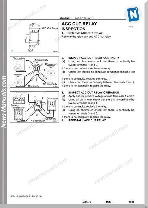 1998 land cruiser repair manual