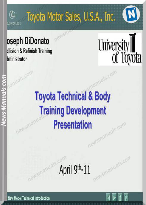 Toyota Training New Vehicle Technology