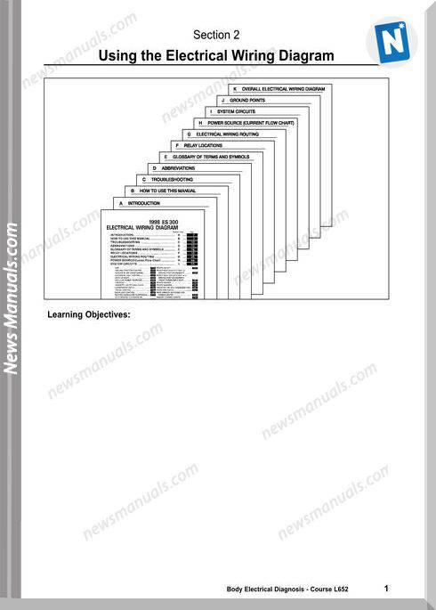 Toyota Using The Lexus Electrical Wiring Diagram