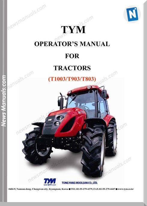 Tym T1003T903T803-Operation-Manual