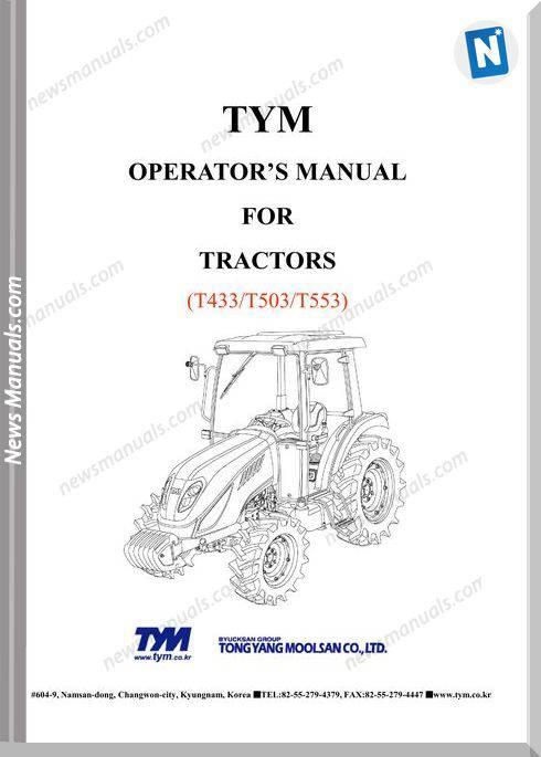 Tym T433T503T553-Operation-Manual