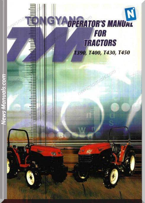 Tym T450 Operators Manual