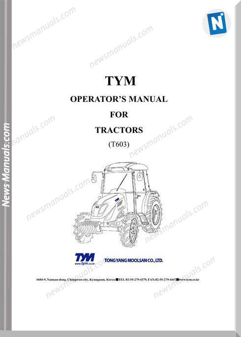 Tym T603-Nc-Ps-Dumpswitch-Operation-Manual-0802