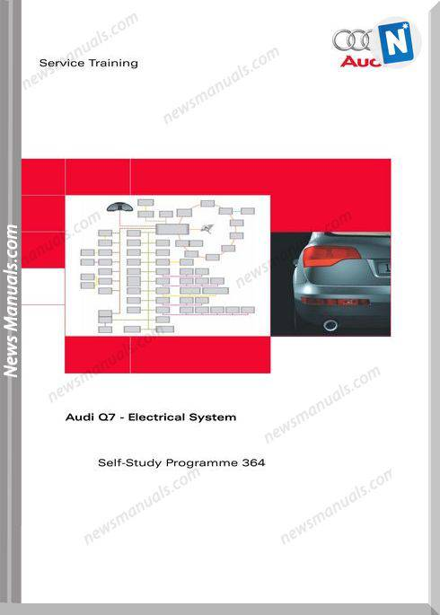 Vag Self Study Booklet 364 Audi Q7 Electrical System