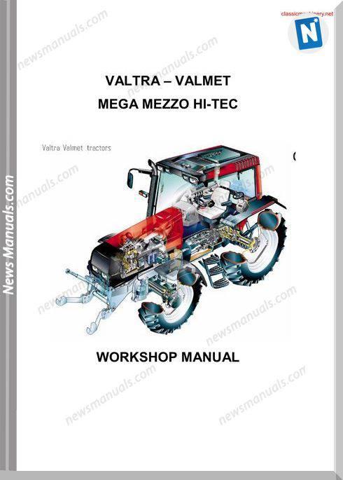 Valtra 8150 Tractor Service Repair Manual