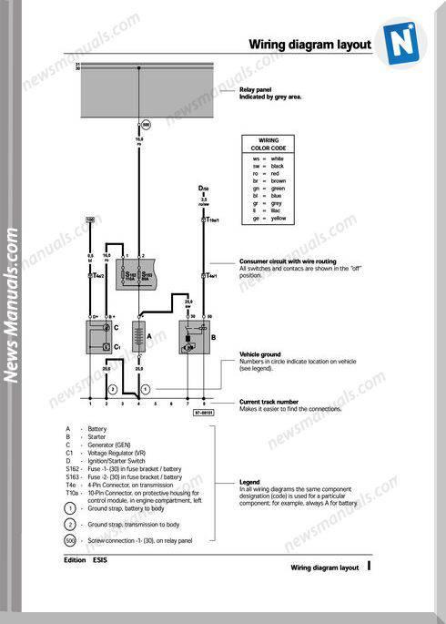 volkswagen passat official service manual