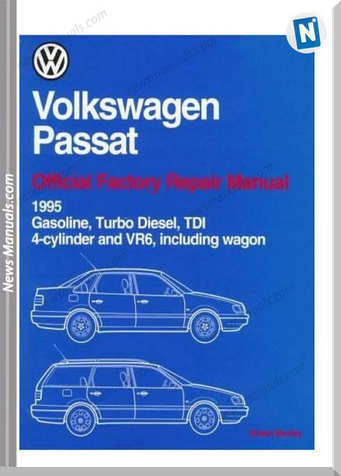 Volkswagen Passat Official Wiring Diagrams 1995