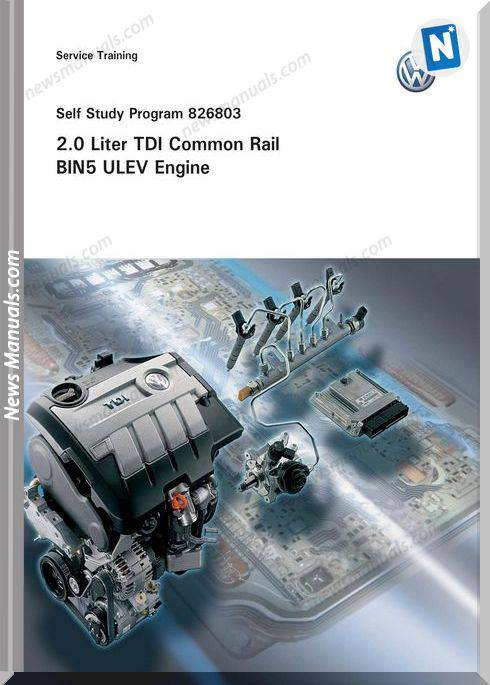 Volkswagen Service Training 20 Tdi Common Rail