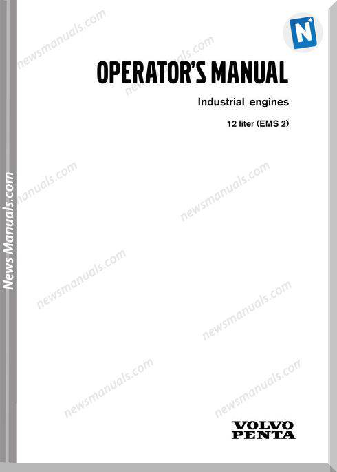 Volvo Engines Ems2 Operator Manual