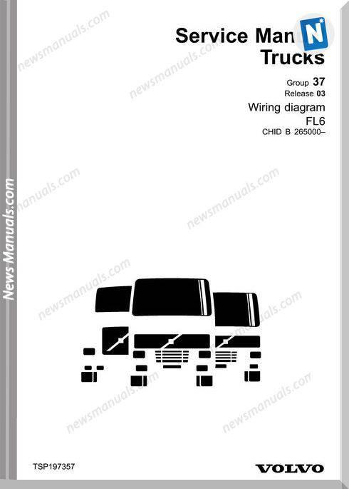 Volvo Fl6-November 2003 Service Manuals