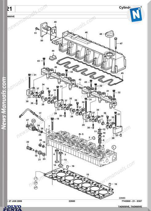 volvo penta d4 parts manual