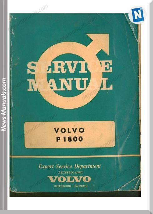 Volvo Service Manual P1800 U S 5013 4 1000 12 64 Engelska