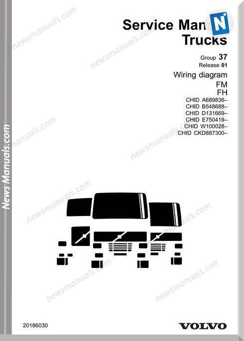 Volvo Truck Fm Fh Wiring Diagram Chid B 548688