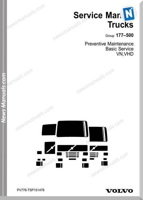 Volvo Vn Vhd Preventive Maintenance Service Manual