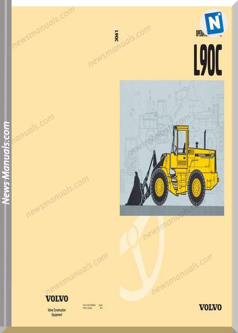 Volvo Wheel Loader L90C Operator Manual