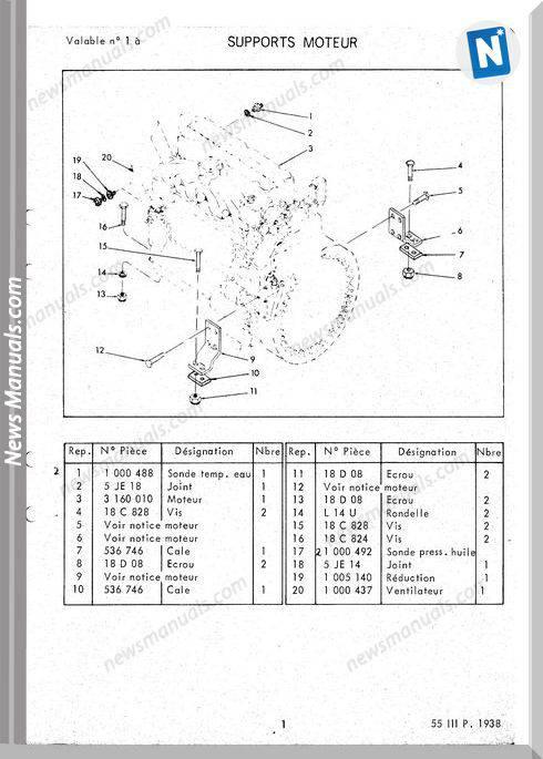 Volvo Wheel Loaders 55 Series Iii Perkins Engine