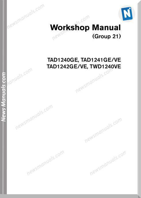 Volvo Workshop Manual G21