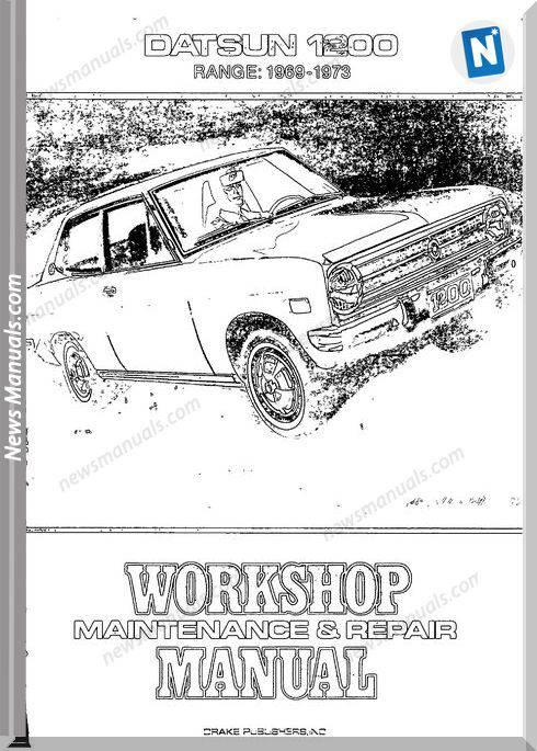 Workshop Manual Datsun 1200 1969 73