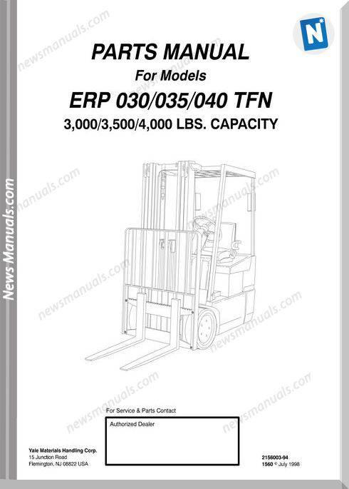 2a750c4411c ... Array - yale forklift erp 030 035 040 tfn models parts manual rh  newsmanuals ...