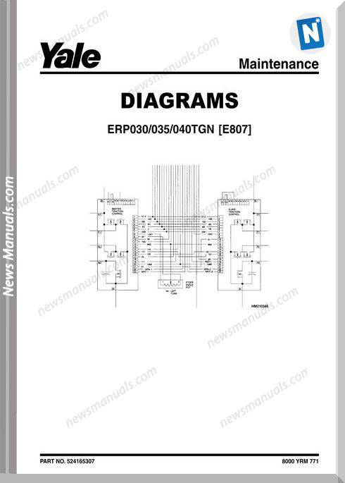 yale erp030 wiring diagram