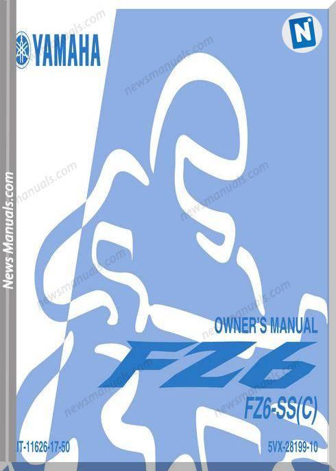 Yamaha Fz6 Ss Ssc 04 Owners Manual