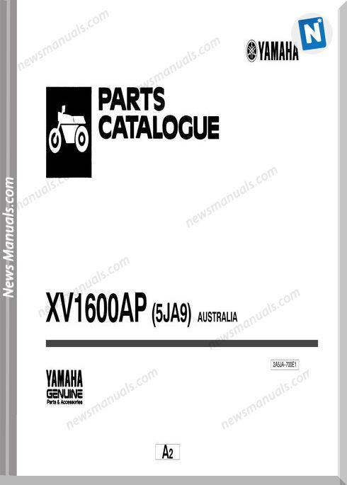 Yamaha Xv1600 Parts Catalogue